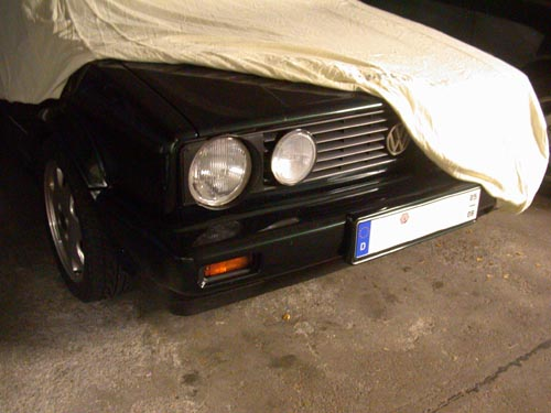 Volkswagen Golf 1 Cabrio Carcover