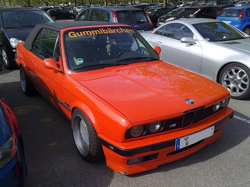 BMW E30 Gummibärchen Tuning