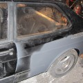 Saab 900 Blech Restaurierung Radlauf hinten Grundierung