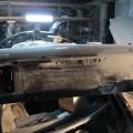 Saab 900 Blech Restaurierung Kofferraumklappe