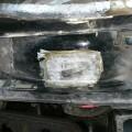 Saab 900 Blech Restaurierung Kotflügel