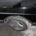 Saab 900 Blech Restaurierung Radlauf intakt