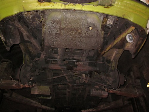 VW T2 Bulli Unterboden