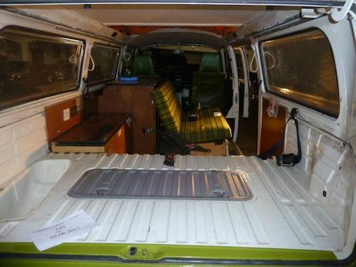 VW T2 Bulli Innenraum