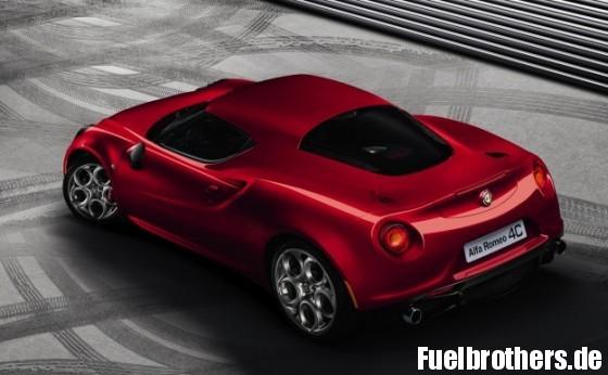 Alfa 4C back