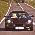Lotus Elise S1 black schwarz front