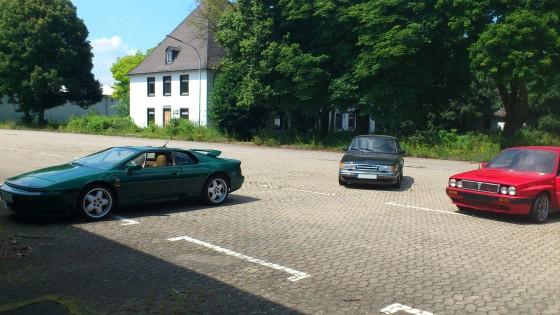 Lotus Esprit S4 - Saab 900 turbo 16 - Lancia Delta HF integrale