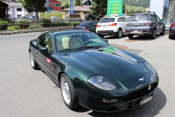 Aston Martin DB7 in Italien
