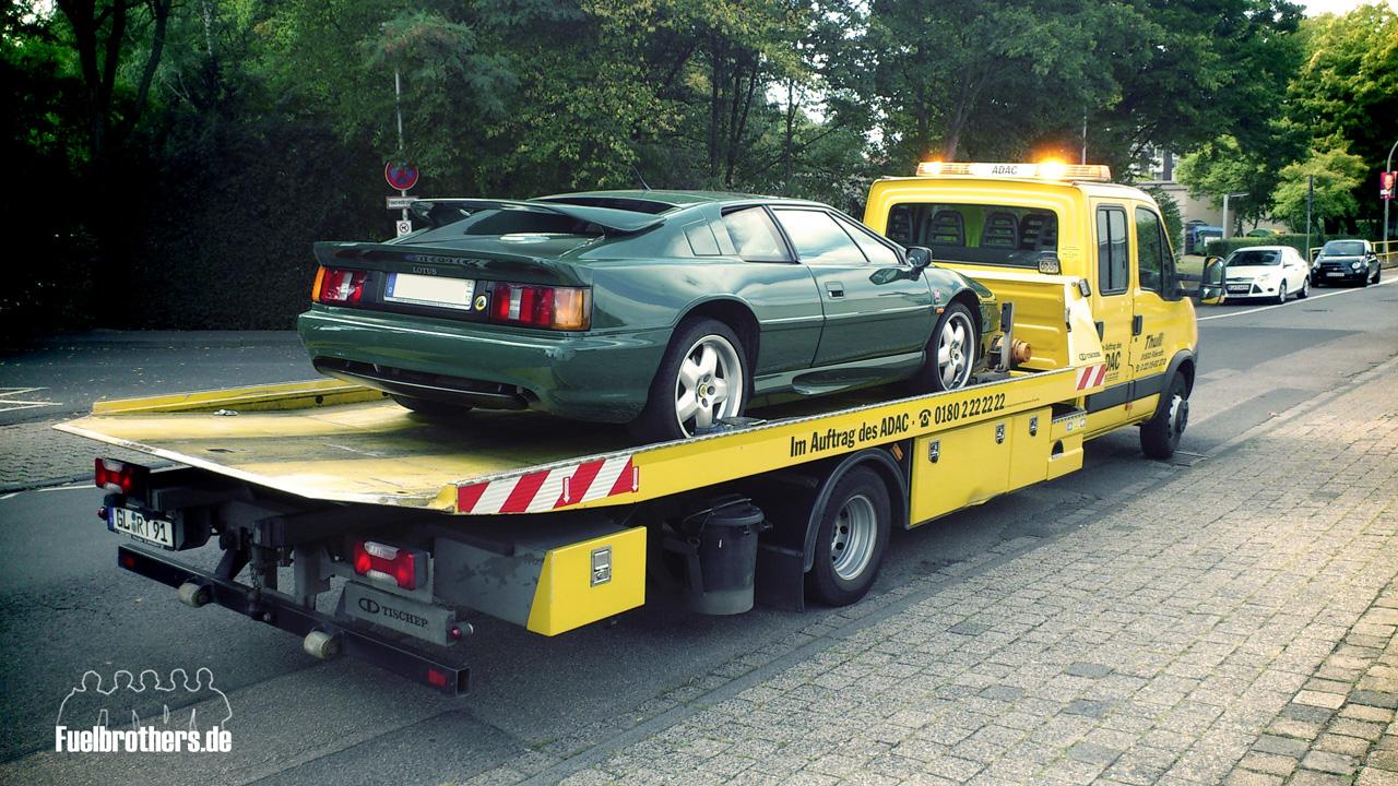 Lotus Esprit S4 Tow Truck ADAC