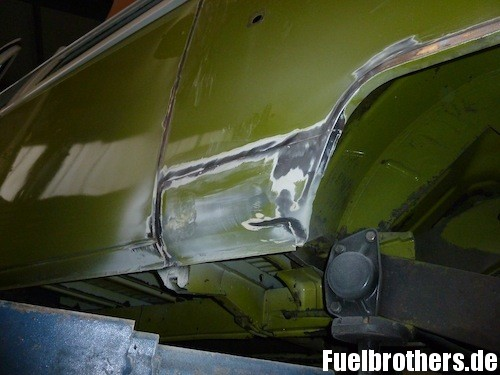 VW T2 Bully Restaurierung rust Rost