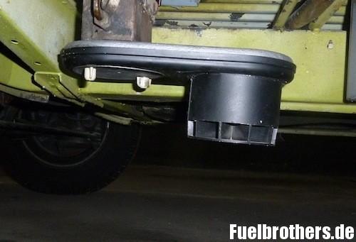 VW T2 Bully Restaurierung Heizung heater