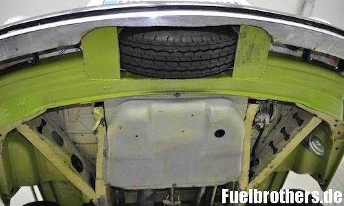VW T2 Bully Restaurierung Unterboden below