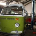 VW T2 Bully Restaurierung paintshop