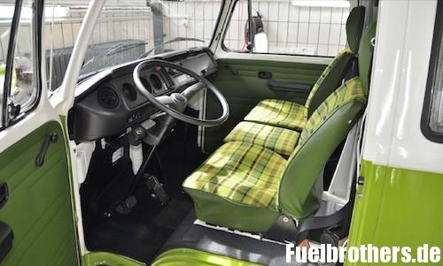 VW T2 Bully Restaurierung result Ergebnis innen interior