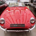 Jaguar E-Type red rot front