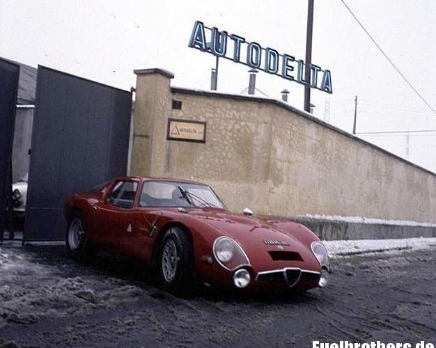 Die Hallen von Autodelta- oder: wie cool Rennsport früher war…