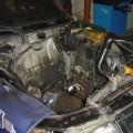 Saab 900 Motorraum Engine Bay