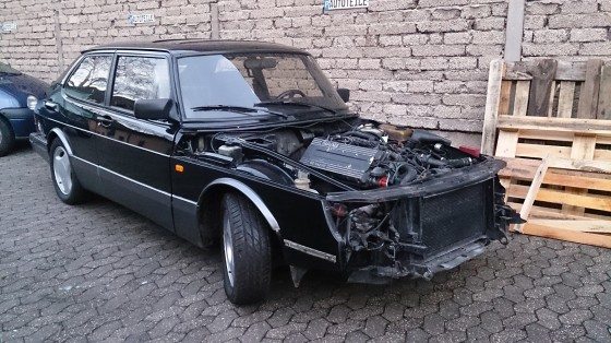 Saab 900 turbo ohne Front