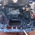 Saab 900 turbo Motorraum leer