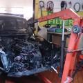 Saab 900 turbo Motorkran
