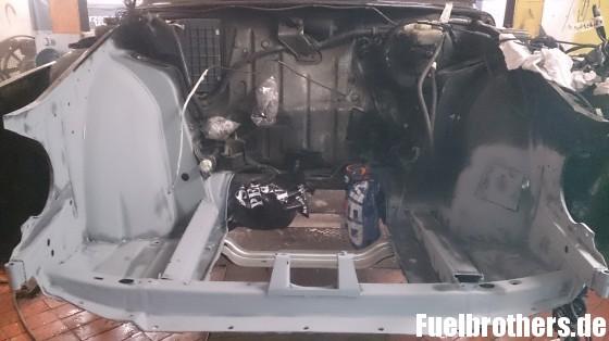 Saab Motorraum Zinkspray