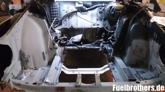 Saab 900 Motorraum