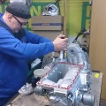 Saab 900 Getriebe einbau (3)
