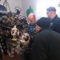 #SAAB 900 Restaurierung – Motor wieder drin