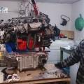 Saab 900 Motor und Getriebe (2)