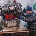 Saab 900 Motor und Getriebe