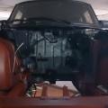 Saab 900 Motorraum Ochsenblut rot (2)