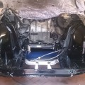 Saab 900 Motorraum leer (1)