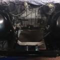 Saab 900 Motorraum leer (2)