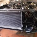 Saab-900-Kühler-montiert-(1)