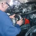 Saab-900-Kupplungsmontage