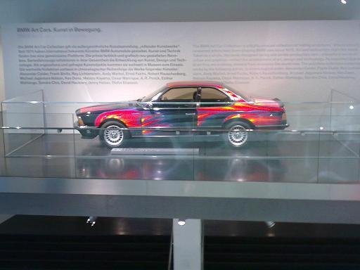 BMW Museum Art Car