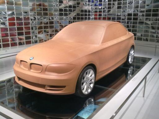 BMW Museum 1er Clay Model