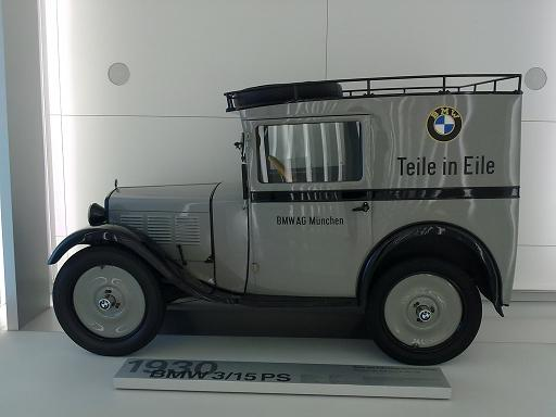 BMW Museum Teile in Eile