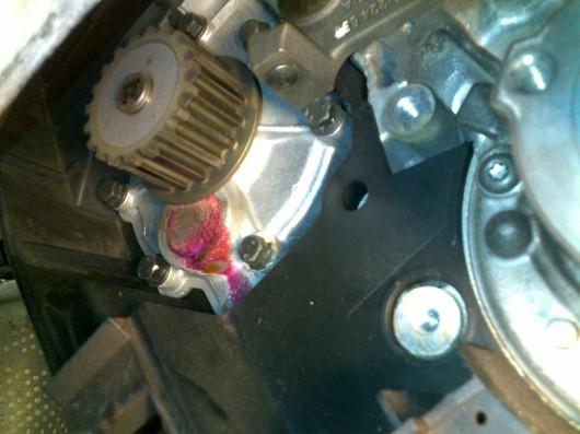 Zahnräder Motor Volvo V70 T5
