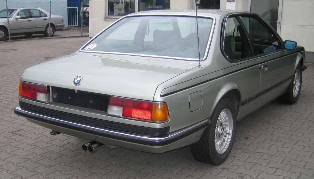 BMW 635 Csi Heck