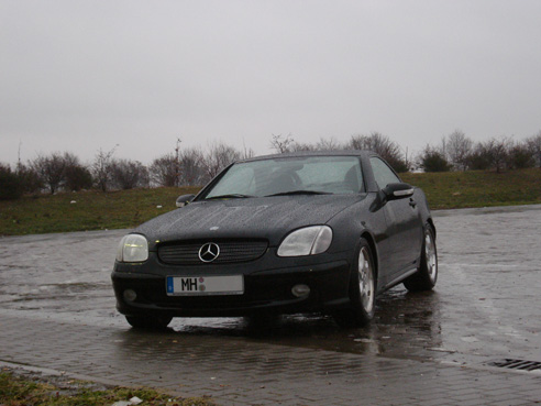 Mercedes SLK R170 front