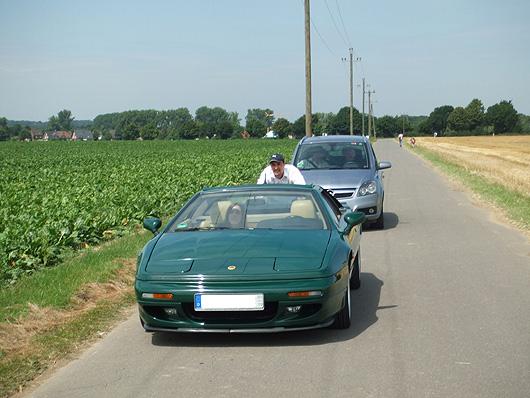 Lotus Esprit S4 - geschoben