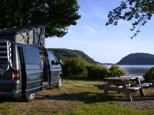 VW T5 Norwegen Norway