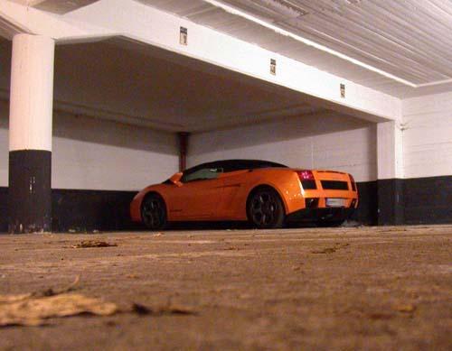 In guter Gesellschaft – Spotted: Lamborghini Gallardo