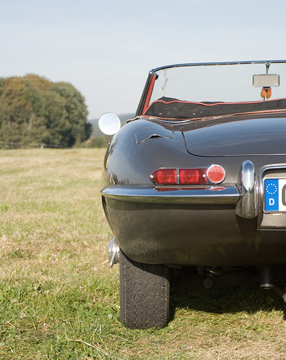 Jaguar E-Type Heck