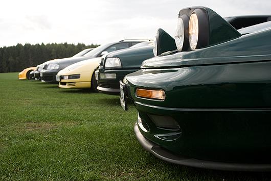 Lotus Esprit S4 Audi S2 Nissan 300ZX Audi RS6 - Treffen 2009