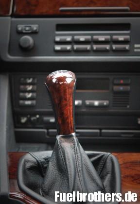 BMW E39 Schaltknauf Leder
