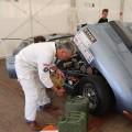 Oldtimer Grand-Prix 2012 Nürburgring Jaguar E-Type service