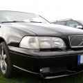 Volvo V70 T5 schwarz front - Treffen 2009