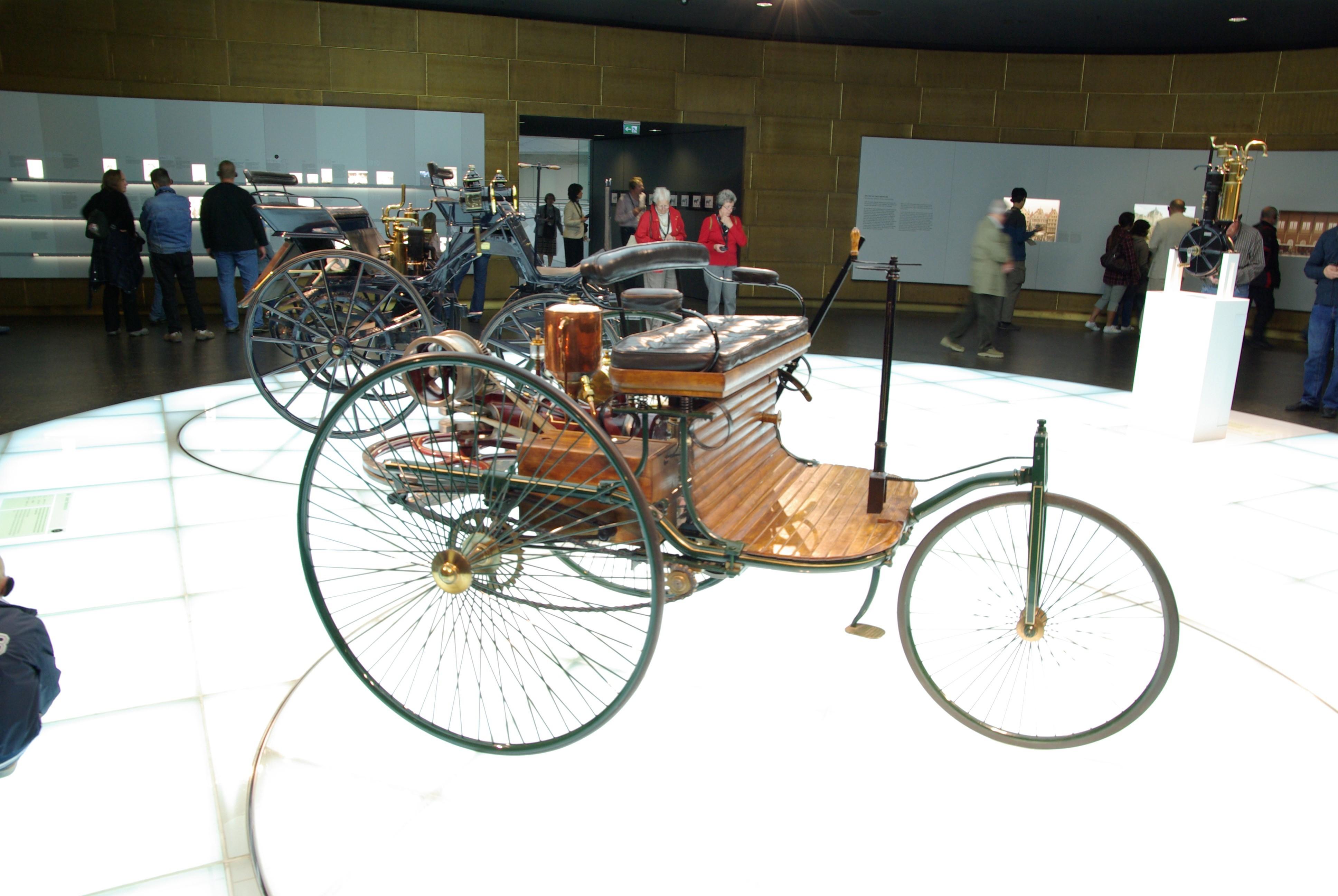 Das erste Automobil